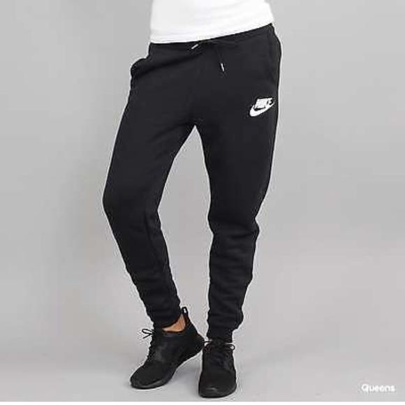 nike rally pants black